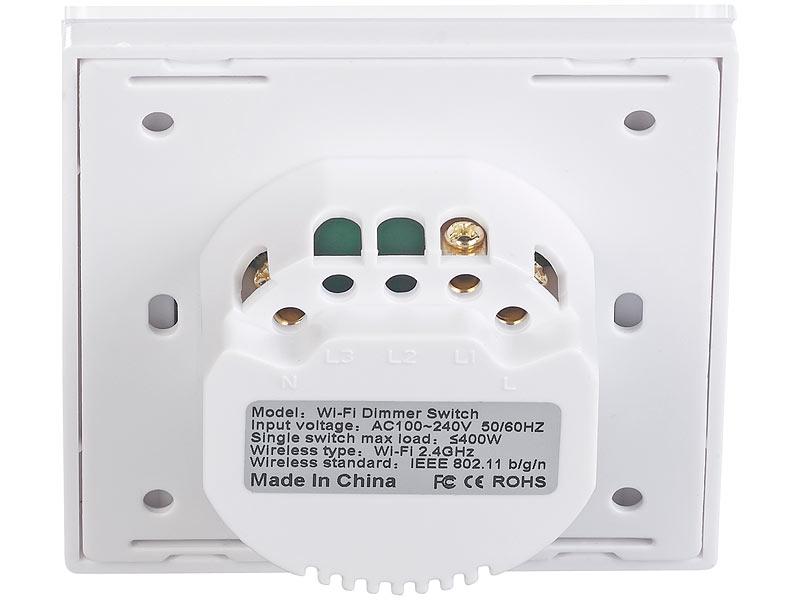 Touch Lichtschalter Wechselschaltung Alexa