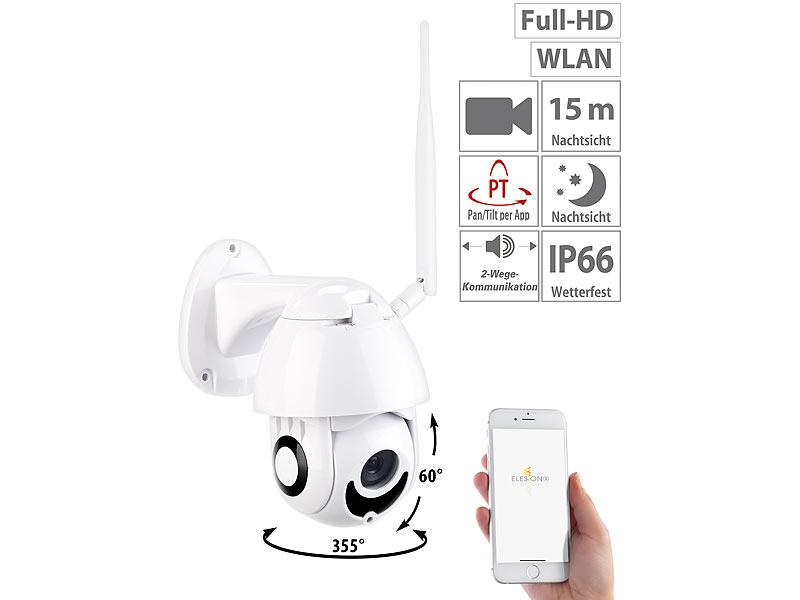 7links Speed-Dome Outdoor-WLAN-IP-Überwachungskamera Versandrückläufer