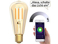 ; WLAN-Steckdosen mit Stromkosten-Messfunktion, WLAN-LED-Lampen E27 RGBW